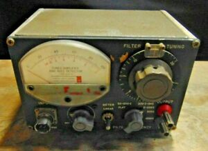 parts Only general Radio 1232 a Tuned Amplifier And Null Detector