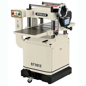 Steelex St1012 15 inch Planer W helical Cutterhead Mobile Base