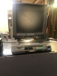 Bell Howell Abr 2000 Microfiche Reader Printer Powers On Seems To Function