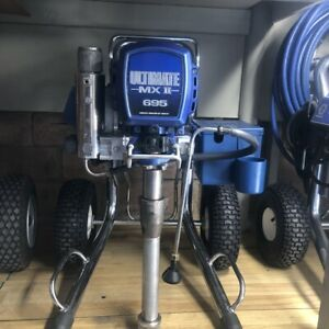 Graco Ultimat Mx Ii 695 Airlles Paint Sprayer