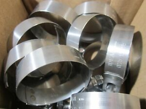 Ideal Tridon 300100225191 3 4 Zinc Plated Wide T Bolt Hose Clamp Lot Of 10