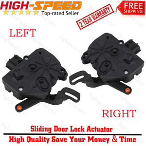 Right Left Door Lock Latch Actuator Pair For Dodge Grand Caravan Town Country