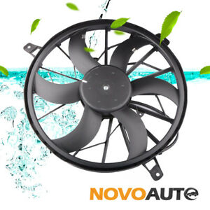 Front Radiator Cooling Fan W Motor For 1999 2003 Jeep Grand Cherokee 52079528ab