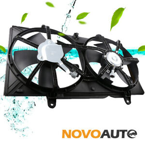 Condenser Radiator Cooling Fan W motor For 04 08 Nissan Maxima 02 06 Altima 3 5l