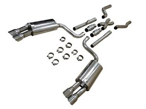 Obx Rcing Sports Catback Exhaust W x pipe For 1986 1991 C4 Chevy Corvette 5 7l
