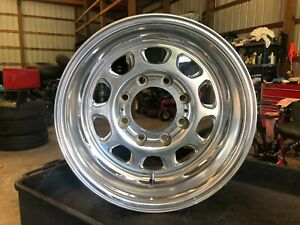 16 Weld Racing Sidewider Polished Wheel 8 X 170 F250 F350 Excursion 99 04