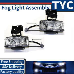 Tyc 2x Left Right Fog Light Lamp Assembly For 1997 1998 Jeep Grand Cherokee