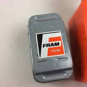 Fuel Filter Fram P3768 Brand New But Old Stock Free First Class Shipping