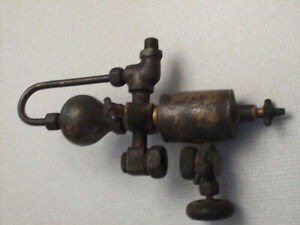Detroit Lubricator 1881 Oil Injector Brass Steam Hit And Miss