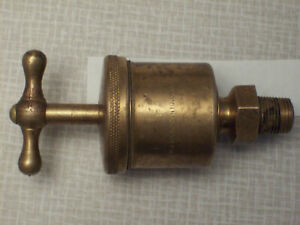James Morrison Brass Grease Cup Oiler Lubricator Steam Gas Hit And Miss