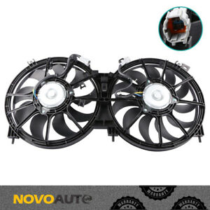 Front Radiator Cooling Fan W Motor For 09 14 Nissan Murano 13 15 Quest 3 5l V6