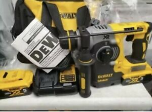 Dewalt Dch273p2 Durable Brushless Sds Rotary Hammer Drill 20v With 5ah Batteries