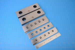 Kurt 6 Magnetic Vise Jaw Plate And Parallel Set