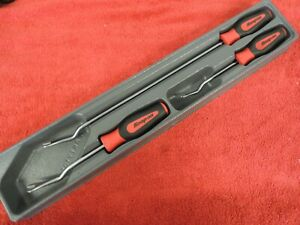 Snap On 3 Piece Asg103br Instinct Grip Trim Removal Tool Set In A Tray