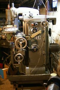 Deckel Fp2 Universal Mill With Quilling Vertical And Horizontal Headstock