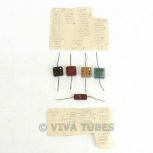 Vintage Lot Of 116 Small Mica Capacitors Various Brands Ratings