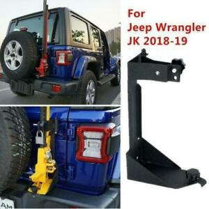 For Jeep Wrangler Jl 2018 2019 High Lift Jack Mount Hood Bracket Offroad Truck