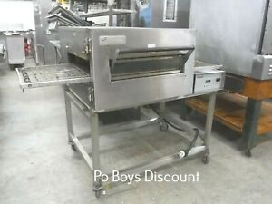 Lincoln Conveyor Pizza Bread Oven 3 Phase Ss Stackable Casters