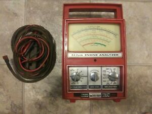 Kal Equip Model 4102 Engine Analyzer Vintage No Manual 2 4 Cycle