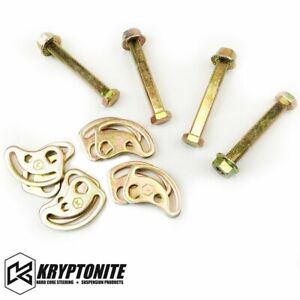Kryptonite Cam Bolt Kit For 2001 2010 Chevrolet gmc 2500 3500 2500hd 3500hd