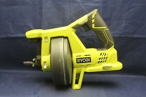 Ryobi P4001 18v 18 volt One Drain Auger Pipe Snake Sewer Cleaner tool Only C2