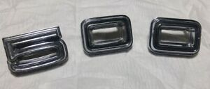 1968 Dodge Coronet 500 Quarter Panel Oem 500 Emblems