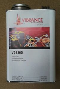1 Ppg Vibrance Custom Clear Coat Paint One Gallon Can Vc5200