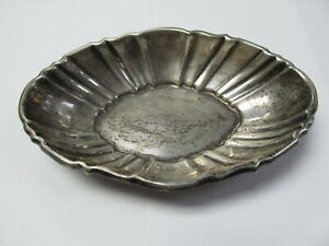 Poole Candy Dish Small Bowl 221 Sterling Silver 6 W Xlnt Cond