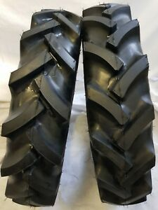 2 Tires 2 Tubes 6 50 16 6 Ply Knk50 3 rib Farm Tractor Tires W tube 6 50x16