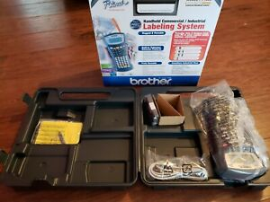 Brother P touch Pt 1650 Industrial Label Maker With Case And Box Very Nice