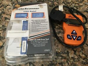 Actron Cp9575 Trilingual Obd Ii And Can Scan Tool Car Code Reader Eraser