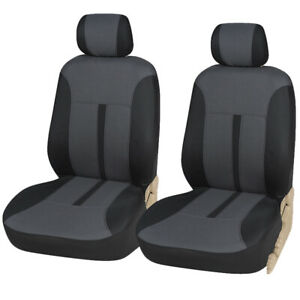 Fabric Front Seat Covers 161 Black For Honda Civic 2006 2019