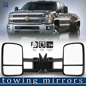New Manual Tow Side Mirror For 88 98 Chevy Gmc C K 1500 2500 3500 Towing Mirrors