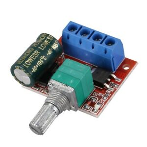 Dc5 35v 5a Pwm Dc Motor Speed Controller Led Light Dimmer Switch 10khz pack K3i9