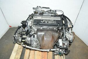 Jdm Honda Prelude 92 96 H22a Dohc Vtec Engine With 5 Speed M2a4 Transmission