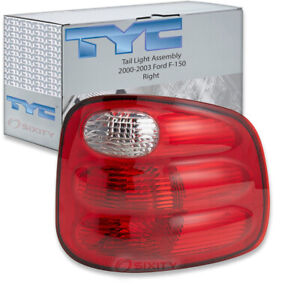 Tyc Right Tail Light Assembly For 2000 2003 Ford F 150 Zq