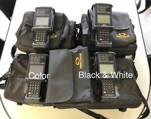 Sunrise Telecom Sunset Ocx Testing Analyzer Color Monitor Set New Batteries
