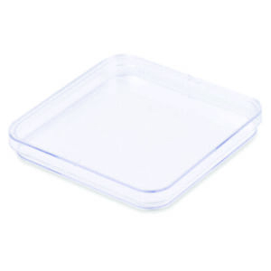 Petri Dishes 130x15mm 1 Room Square Polystyrene Sterile case 150