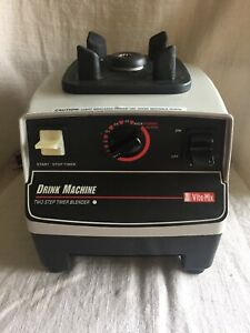 Vitamix Drink Machine Two speed Commercial Model Vm0100a Base Only