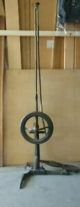 Antique Dental Drill 1870 1910 Foot Pedal 52 5 Tall 21 Wide At Foot