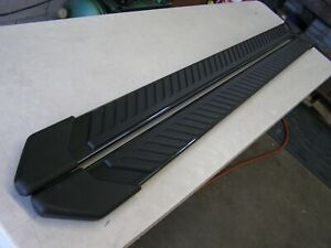 Oem 2015 2018 Ford F150 Truck Running Boards Grey 5 Crew Cab New Toff 2016 2017