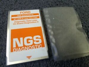 Ford Hickok Ngs Obdii Orange Non Can Diagnostic Card 2005 Later Ver 25 0