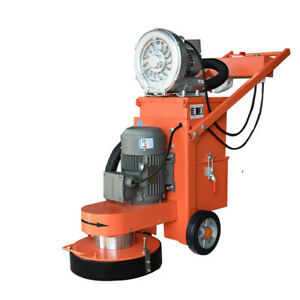 Floor Grinder With Fan Industry Tools Heavy Duty Concrete Grinding Machine Us