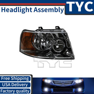 Tyc 1x Front Right Passenger Headlight Assembly For 2004 2006 Ford Expedition