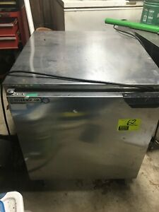 27 Beverage Air Self Contained Portable Stainless steel 1 door Fridge