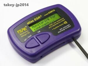 Peak Esr70 Atlas Esr Plus Capacitor Analyser With Audible Alerts