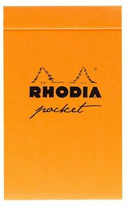 Rhodia Pocket Notepad Dot Grid 40 Sheets 3 X 4 3 4 Assorted Color