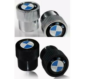 Bmw Aluminum Motorcycle Tire Valve Stem Caps 2 Pack