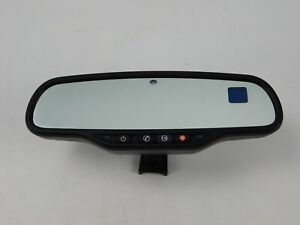 07 12 Chevy Gmc Cadillac Rear View Mirror Auto Dimming Onstar Compass Oem