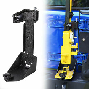 Off road Hi lift Hood Jack Mount Tailgate Bracket For 07 17 Jeep Wrangler Jk New